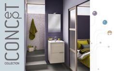 Meuble salle de bain petite largeur Kub | Delpha