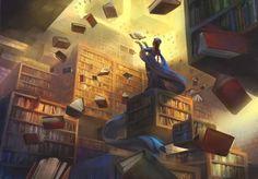 Bibliothèques et livres des songes - Page 17