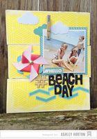 American Crafts Studio Blog: Beach-Themed Home Decor Tutorial by Ashley Horton