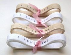 Your custom design on any ribbon/ lint  You can even do it at home! For more info email us at gowildcreations01@gmail.com