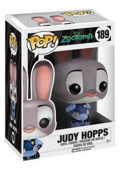 Judy Hopps Vinyl Figure 189 - Funko Pop! van Zootopia