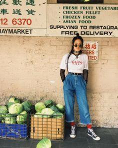 Cropped Denim for Women - Fazhion Look Fashion, 90s Fashion, Korean Fashion, Street Fashion, Vintage Fashion, Fashion Outfits, Womens Fashion, Cheap Fashion, Affordable Fashion