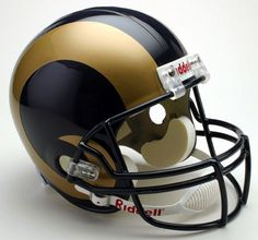 St. Louis Rams Full Size Replica Football Helmet - Sports Integrity
