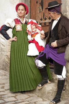 trajes de ansó, huesca, aragón