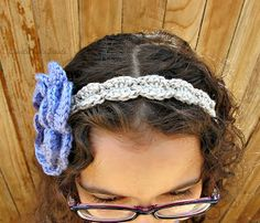 createbellacreate: Free Shell Crochet Headband Pattern