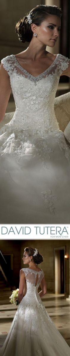 Style No. 213248 ~ Parker, Wedding Dresses 2013 Collection - Tulle, organza and…