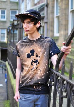Mickey Mouse print T-shirt | The Left Bank | ASOS Marketplace