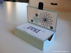 Stampin' Up! - Matchbox in Himmelblau