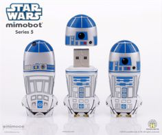 R2-D2 MIMOBOT®-- quite possibly the coolest flash drive EVER.