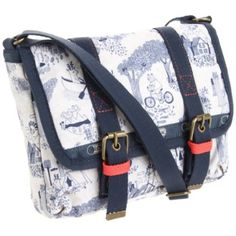 LeSportsac Emmi Messenger Bag,Happy Campers,One Size