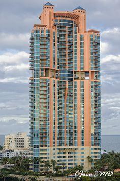 A skyscraper in Miami, Florida
