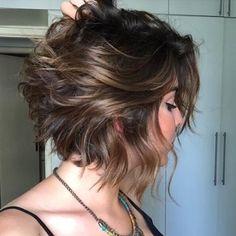 short  haircuts for women - messy bob cut