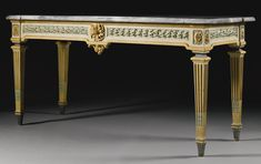 An Italian polychrome lacquered console table, Piedmontese<br>late 18th century | Lot | Sotheby's
