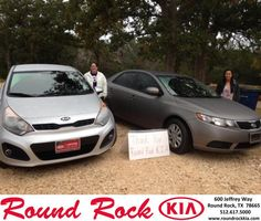 Congratulations to Connie Ramirez on your #Kia #Forte purchase from Ruth Largaespada at Round Rock Kia! #NewCar