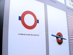 Artists playful reinventions of the London Underground roundel