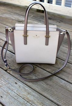 Kate Spade Cedar Street Small Hayden bag in pebble/warm putty