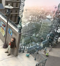 Cinema 4D Art by Matthieu