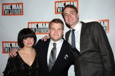 One Man, Two Guvnors Opening Night: Jemima Rooper, James Corden, Oliver Chris