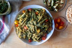 pasta with pesto genovese – smitten kitchen Pesto Sauce, Pesto Recipe, Pesto Pasta, New Recipes, Cooking Recipes, Recipies, Dinner Recipes, Budget Recipes, Kitchen Recipes