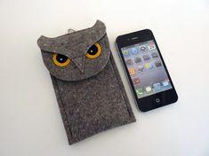 OWL felt case for phone