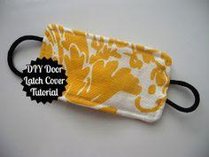 Dream Crafter: DIY Door Latch Cover