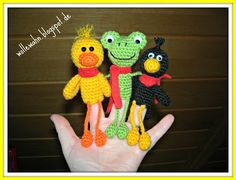 WolleWahn: Mai 2013 Diy Crochet, Crochet Dolls, Crochet Baby, Doll Patterns, Knitting Patterns, Crochet Patterns, Kit Bebe, Pencil Toppers, Cat Crafts