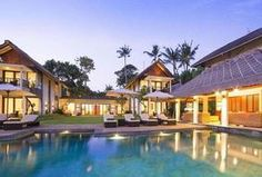 Seseh Beach Villas is a lavish estate of two standalone villas offering a beachfront position, private pools and five-star luxury in Seseh, Bali. Bali Luxury Villas, Luxury Villa Rentals, Luxury Hotels, Villa Pool, Beach Villa, Canggu Bali, Beautiful Hotels, Amazing Hotels, Luxury Estate