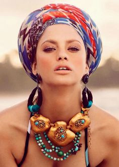 We love everything about turbans