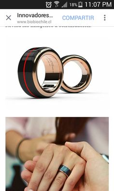 Innovadores anillos permiten sentir el latido del corazón de tu pareja en tiempo real!! Mish.. para los que aun son romanticos