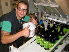 Moylan's Brewery Bottling Nor Cal IPA Today