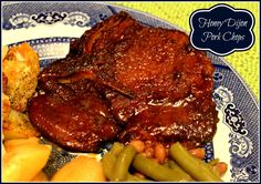 Sweet Tea and Cornbread: Honey Dijon Pork Chops!