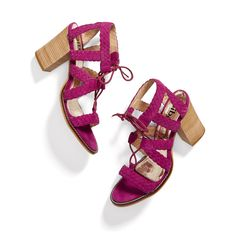 Stitch Fix May Styles: Colorful Strappy Sandals