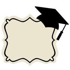 Silhouette Design Store: graduation frame