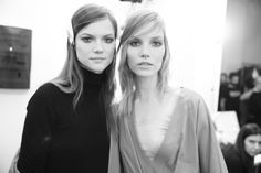 From Kasia Struss and Suvi Koponen backstage at Gucci, to behind-the-scenes of Fausto Puglisi and Joseph Altuzarra on the front row, we take a look back at the pictures from the day one of Milan Fashion Week, with photos by Saskia Lawaks. Fashion Week, Fashion Photo, Milan, Style Photoshoot, Polish Models, Fall Winter 2014, Fashion Killa, White Photography, Journals
