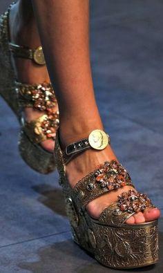 Platform gioiello Dolce e Gabbana