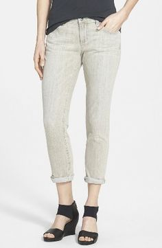 Eileen Fisher Organic Cotton Boyfriend Jeans www.teelieturner.com #fashion