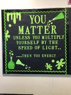 Science Bulletin Boards, Science Boards, Classroom Bulletin Boards, Classroom Posters, Classroom Ideas, Creative Bulletin Boards, Classroom Quotes, School Posters, Science Room