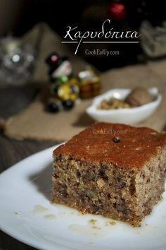 Greek Sweets, Greek Desserts, Greek Recipes, Easy Sweets, Sweets Recipes, Cake Recipes, Canning Recipes, Kitchen Recipes, Best Banana Muffins Ever