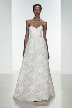 """Ingrid"" http://amsale.com/bridal/#ingrid"