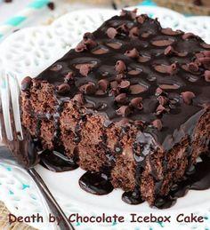 Death By Chocolate Icebox Cake