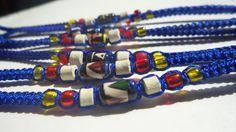 Freundschaftsbänder - 7 Freundschaftsarmbänder mit Glücksperlen für JGA - ein Designerstück von schmuckeHexe bei DaWanda Designer, Etsy, Wristlets