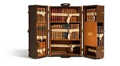 Louis Vuitton: Library Trunk - I want one of these to build displays in!