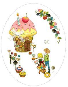 Hansel & Gretel -esque Artwork by Hiromi Sato
