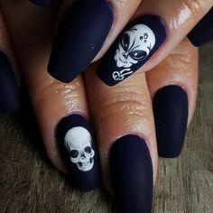 #mmynails #mmynailsandbeauty #alien #skull #skullnails  #aliennails #handmade #gelnails #nails #nailart #lovenailart #halloweennails #halloween Alien Nails, Skull Nails, Alien Skull, Love Nails, Halloween Nails, Gel Nails, Nailart, Handmade, Beauty