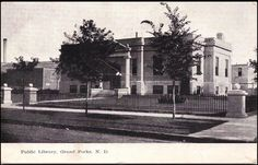 Discover Grand Forks history, check out the Grand Forks Room at the library.