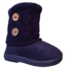 Amazon.com: New Girls Toddlers Kids Slouch Comf Midcalf Suede Boots Shoes: Shoes
