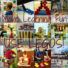 Make Learning Fun: Use LEGOS from Educating Laytons