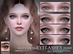 Eyelashes 201805 by S-Club WM at TSR • Sims 4 Updates