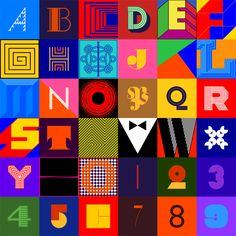 "36 Days of Type By Maria Papaefstathiou. ""36 Days of Type"" is a project started by Gabriel Benderski, an independent graphic designer and typographer and invites designers to challenge themselves to create a letter or number per day for 36 days. You can see some of the designs so far below or check them out at ""36 Days of type"" http://benderski.design/36-days-of-type"