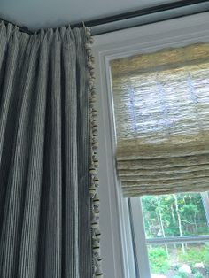 Nest by Tamara: Sneak Peek of the 2013 Hampton Designer Showhouse: Part 1 - Drapery detail